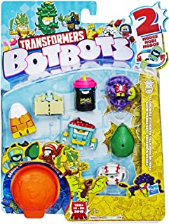Transformers Toys Botbots Series 3 Fresh Squeezes 8 Pack - Mystery 2-in-1 Collectible Figures! Kids Ages 5 & Up (Styles & ...
