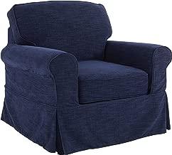 OSP Designs Ashton Chair, Navy