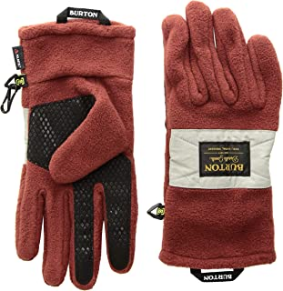 Burton Men's Ember Fleece Glove, Timber Wolf, X-Small