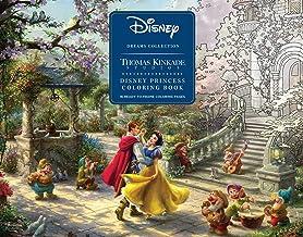 Disney Dreams Collection Thomas Kinkade Studios Disney Princess Coloring Poster Book: Disney Princess Coloring Book