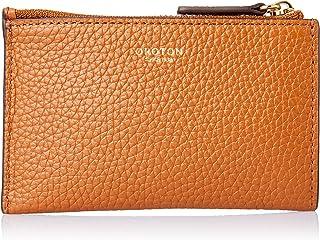 Oroton Women's Avalon Mini 4Cc Zip Pouch, Cognac, One Size