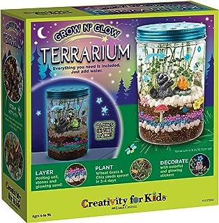 Creativity for Kids Grow 'N Glow Terrarium Kit for Kids – Science Activities..