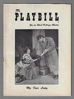 """Julie Andrews""""MY FAIR LADY"""" Rex Harrison/Lerner and Loewe 1956 Broadway Opening Week Playbill"""