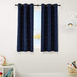 AmazonBasics Kids Room Darkening Blackout Window Curtain...