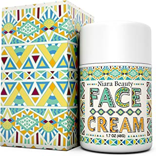 Face Cream-Anti Aging Moisturizer-For Wrinkles, Fine Lines and Even Skin Tone-Organic & Natural Ingredients for Sensitive, Oily and Dry Skin-For Women and Men-also use on Eye, Neck, Decollete - 1.7 OZ