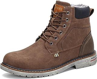 Hombre Botas de Nieve Al Aire Libre Senderismo Impermeables Deportes Trekking Zapatos Invierno Forro Piel Sneakers Calient...