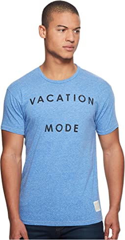 Vacataion Mode Short Sleeve Tri-Blend Tee