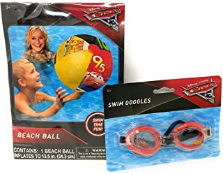 Disney Cars 3 Beach Ball 10.5x6.25x0.25 s Per  Combined Package Sales Unit Contains 6 Manufacturer Retail Unit