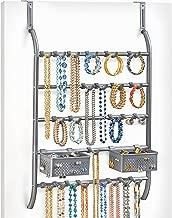 Lynk 门外或壁挂式围巾架 - 腰带 铂金色 144702
