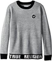 True Religion Kids - Marled Pullover Sweater (Big Kids)