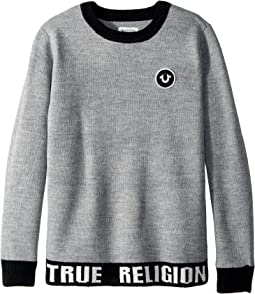 True Religion Kids - Marled Pullover Sweater (Big Kids)