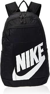 Nike Mens Backpack, Black/White - NKBA5876-82