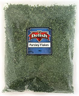 Dried Parsley Flakes by Its Delish (4 Oz)