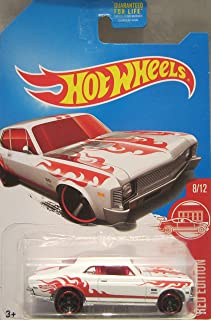 Hot Wheels 2017 Red Edition 8/12 - 68 Chevy Nova [White] - Only at Target!