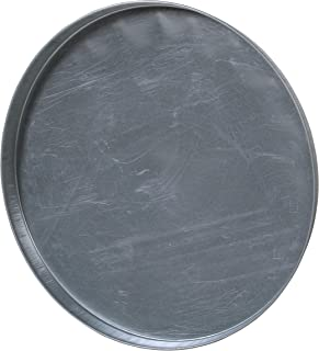 Vestil DC-235 Closed Head Galvanized Steel Drum Cover for use with 55 gallon Drum, 24-1/2