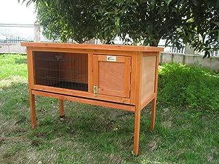 BUNNY BUSINESS Nuevo único Conejo/Guinea Pig Pet Hutch casa Refugio, 915x 450x 700mm