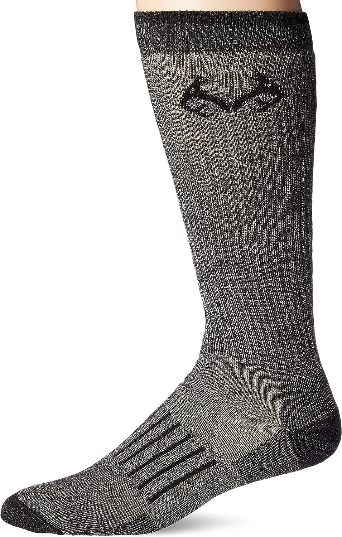 Realtree Mens Full Cushion Merino Wool Sock
