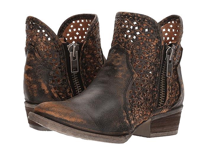 Corral Boots  Q5021 (Black/Yellow) Cowboy Boots