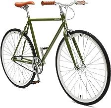 Retrospec Critical Cycles Harper Single-Speed Fixed Gear Urban Commuter Bike