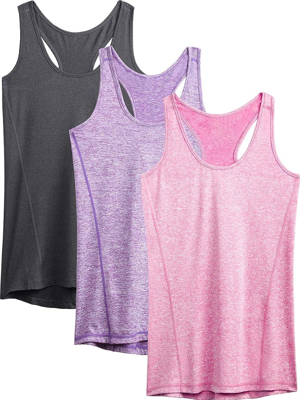 Neleus Women's Racerback Yoga Workout Tank Top