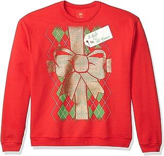 Hanes Men's Ugly Christmas Sweatshirt