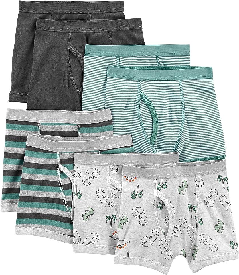 Boy's 8-Pack Underwear, Pack of 8