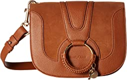 Hana Small Suede & Leather Crossbody