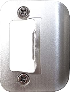 Gator Door Latch Restorer - Strike Plate (Satin Nickel)