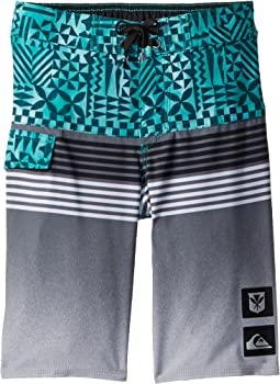 Quiksilver Kids - Highline Division Hawaii Boardshorts (Toddler/Little Kids)