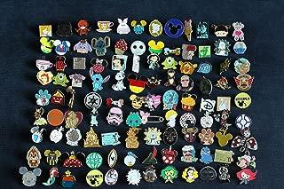 Disney Trading Pins-Lot of 25-No Duplicates-LE-HM-Rack-Cast-1