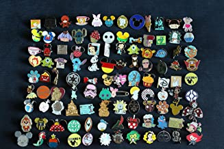 Metal and Stamped-100/% Tradeable- by AnythingEverything Disney Trading Pin Lot No Duplicates 25 Mystery Pins