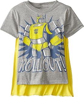 Freeze Transformers Little Boys' Bumblebee Roll Out Cape T-Shirt
