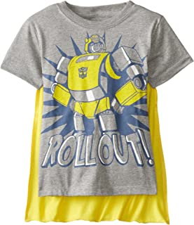 Boys' Bumblebee Roll Out T-Shirt with Cape