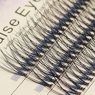 Scala 20 Roots 120pcs 0.07mm Fish Tail Natural Soft Long Mink False Eyelashes Individual Lashes Handmade Fake Eyelashes Extension (16mm)