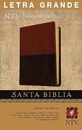 Santa Biblia NTV, Edición personal, letra grande, DuoTono (Letra Roja, SentiPiel