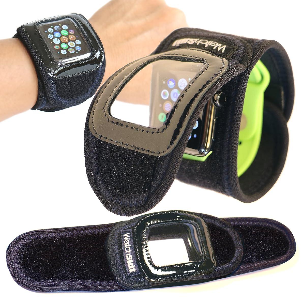 死ぬ驚無視できる《Watch suit VIEW》はApplewatch、腕時計を5秒で簡単装着する保護プロテクターです。透明カバーの上からスマートウオッチの操作可能なソフトカバー GALAXY Gear、SONY Smartwatchで水泳等にも、信頼のメイドインジャパン
