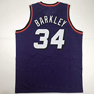 Unsigned Charles Barkley Phoenix Purple Custom Stitched Basketball Jersey Size Men's XL New No Brands/Logos
