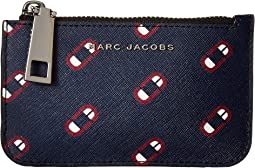 Marc Jacobs - Saffiano Monogram Screams Key Pouch