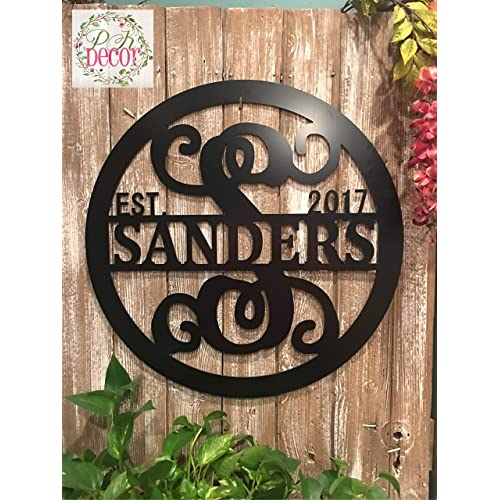 Personalized Metal Sign Amazon Com
