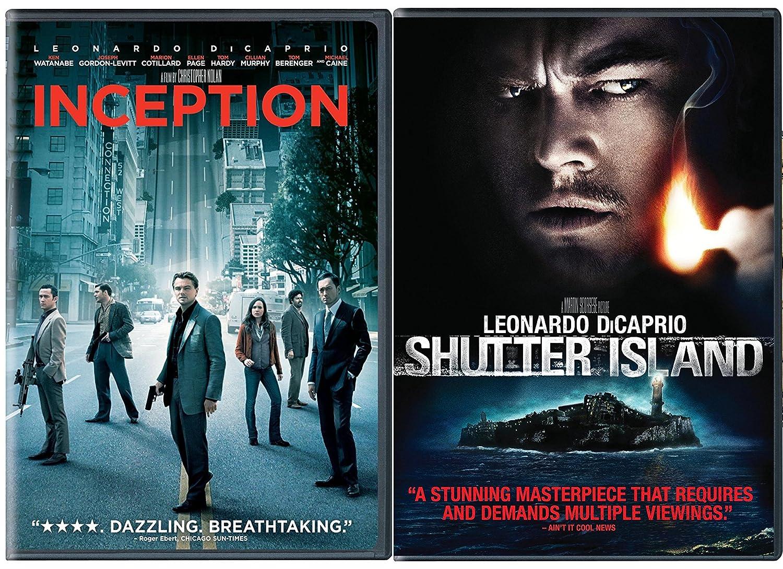 Shutter Island Inception Latest item DVD 2 Over item handling ☆ Leonardo DiCaprio Pack Thriller