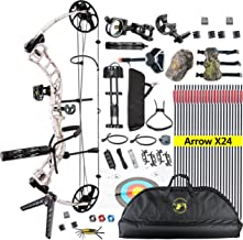 TOPOINT Ship from USA Archery Trigon Compound Bow Package,CNC Milling Bow Riser,USA Gordon Composites Limb,BCY String,19