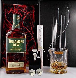 Geschenk Tullamore Dew irischer Whiskey  Whisky Glas  2 Kühlsteine