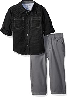 Calvin Klein Baby Boys' Woven Shirt Sets