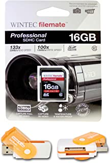 16GB Class 10 SDHC Team High Speed Memory Card 20MB//Sec A free High Speed USB Adapter is included Comes with. Fastest Card in the Market FOR Kodak EasyShare V1073 V1233 V1275