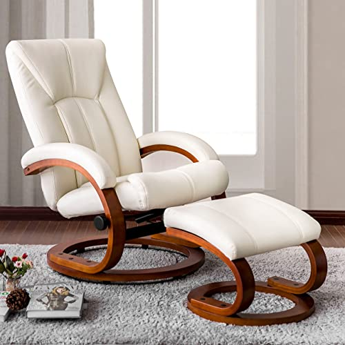 Incredible Leather Chairs With Ottoman Amazon Com Theyellowbook Wood Chair Design Ideas Theyellowbookinfo