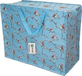 Sponsored Ad – Happy Planet Giftshop Large Jumbo Storage Bag with Zip 58 x 47 x 30cm 80l (Winter Robins Christmas Xmas Des...