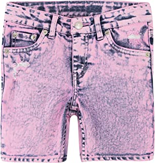 Levi's Girls' Big Denim Midi Shorts