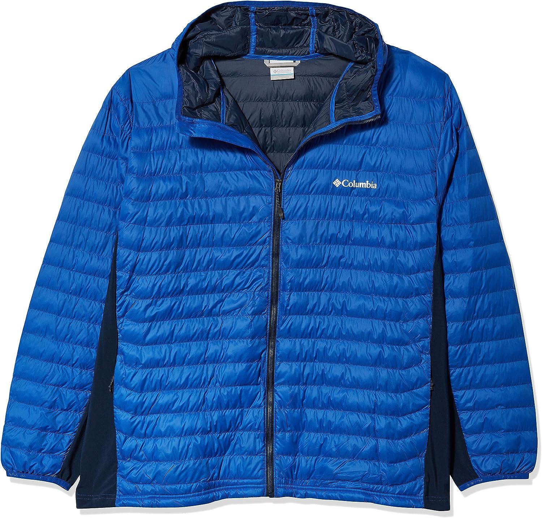 Columbia Men's Tall Powder Pass Hooded Jacket
