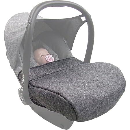 Bambiniwelt Windschutz Fussabdeckung Für Maxi Cosi Cabriofix Meliert Grau Baby