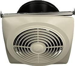 Broan-Nutone  504  Exhaust Fan, White Vertical Discharge Ceiling Ventilation Fan, 6.5 Sones, 350 CFM, 10